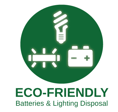 Battery Disposal & Light Bulb Disposal Solutions | TechWaste Recycling California