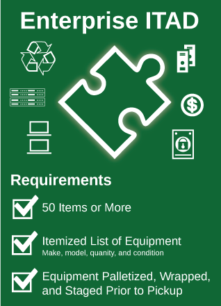 Enterprise ITAD Requirements | TechWaste Recycling