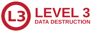 Level 3 Secure Data Destruction | TechWaste Recycling California