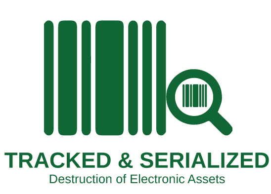SERIALIZED AND TRACKED DESTRUCTION OF ELECTRONIC ASSETS | Techwaste Recycling